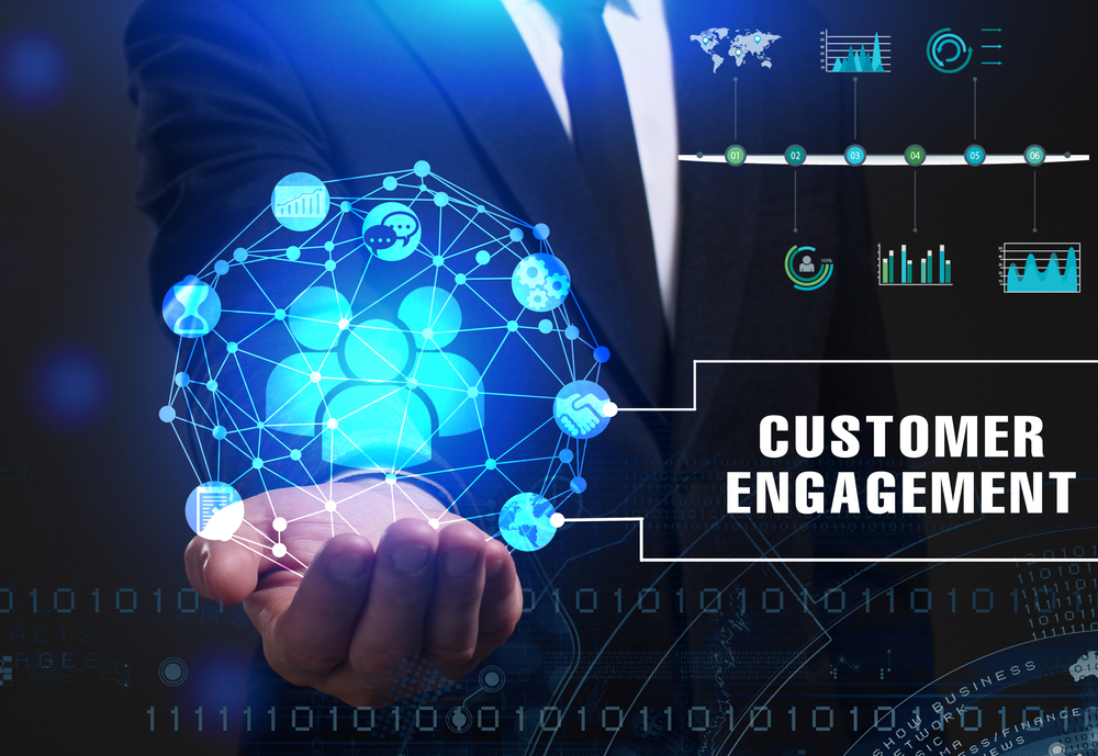 tech helps in customer engagement