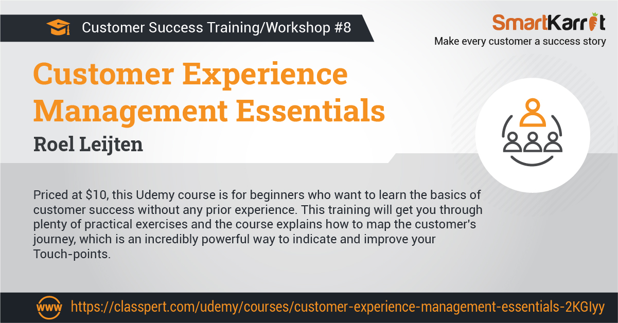 customer experience workshop and training programs