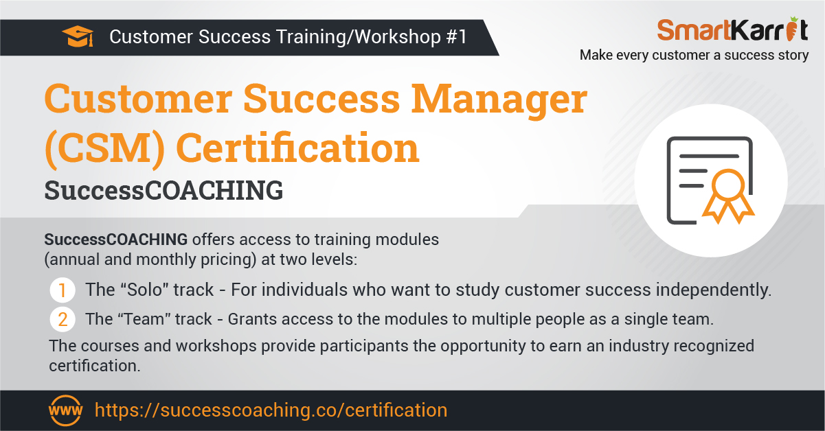 customer success workshop and training program