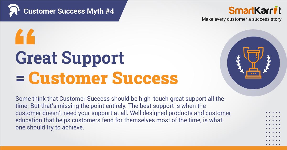 top customer success myth
