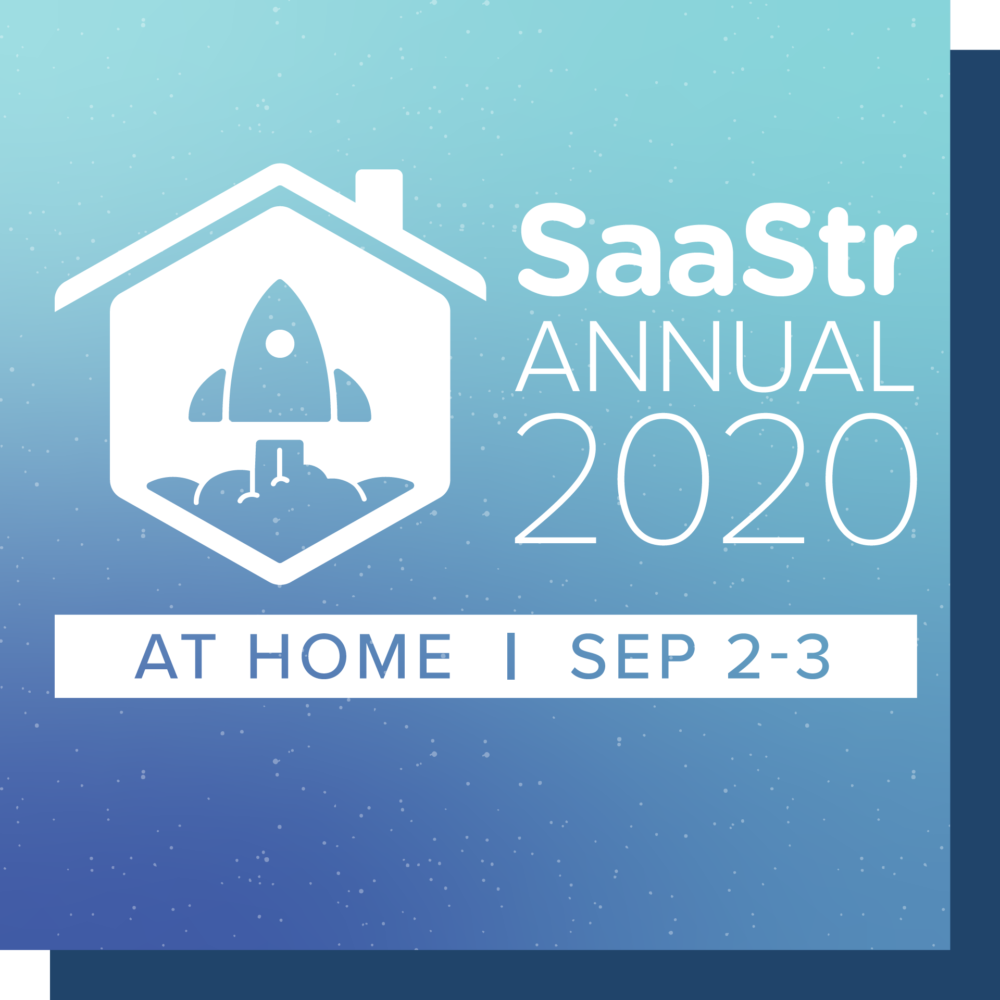 SaaStr at home 2020