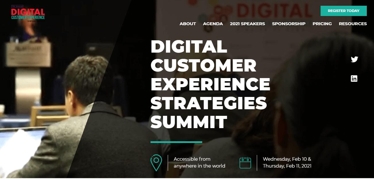 Digital Customer Experience Strategy Summit