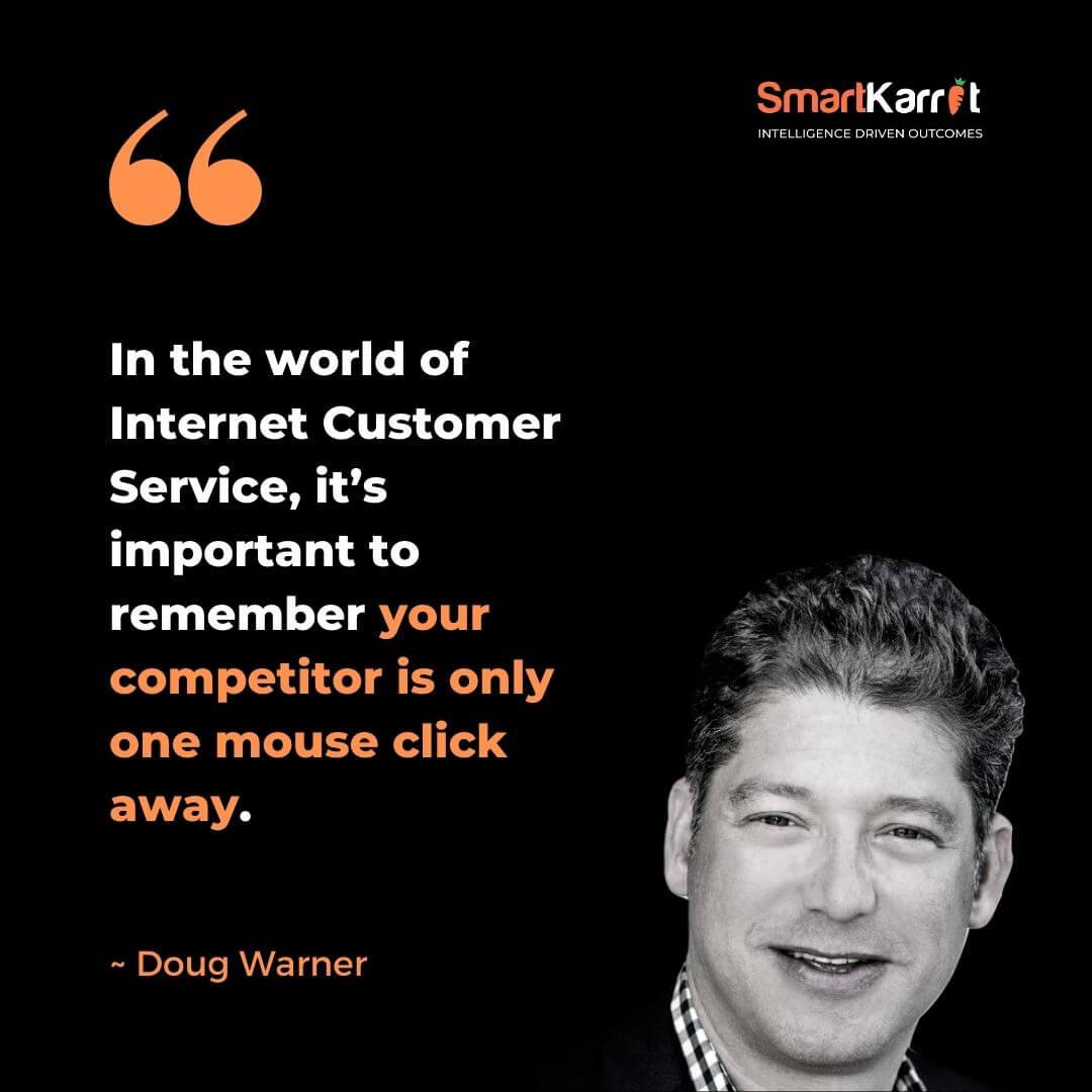 Best CX Quote-Doug Warner