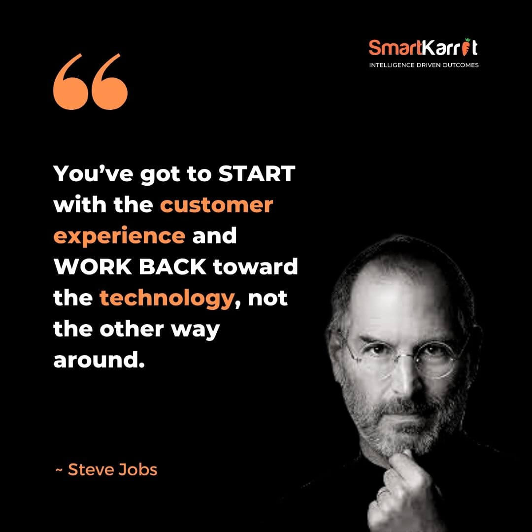 Best Customer Experience Quote-Steve Jobs