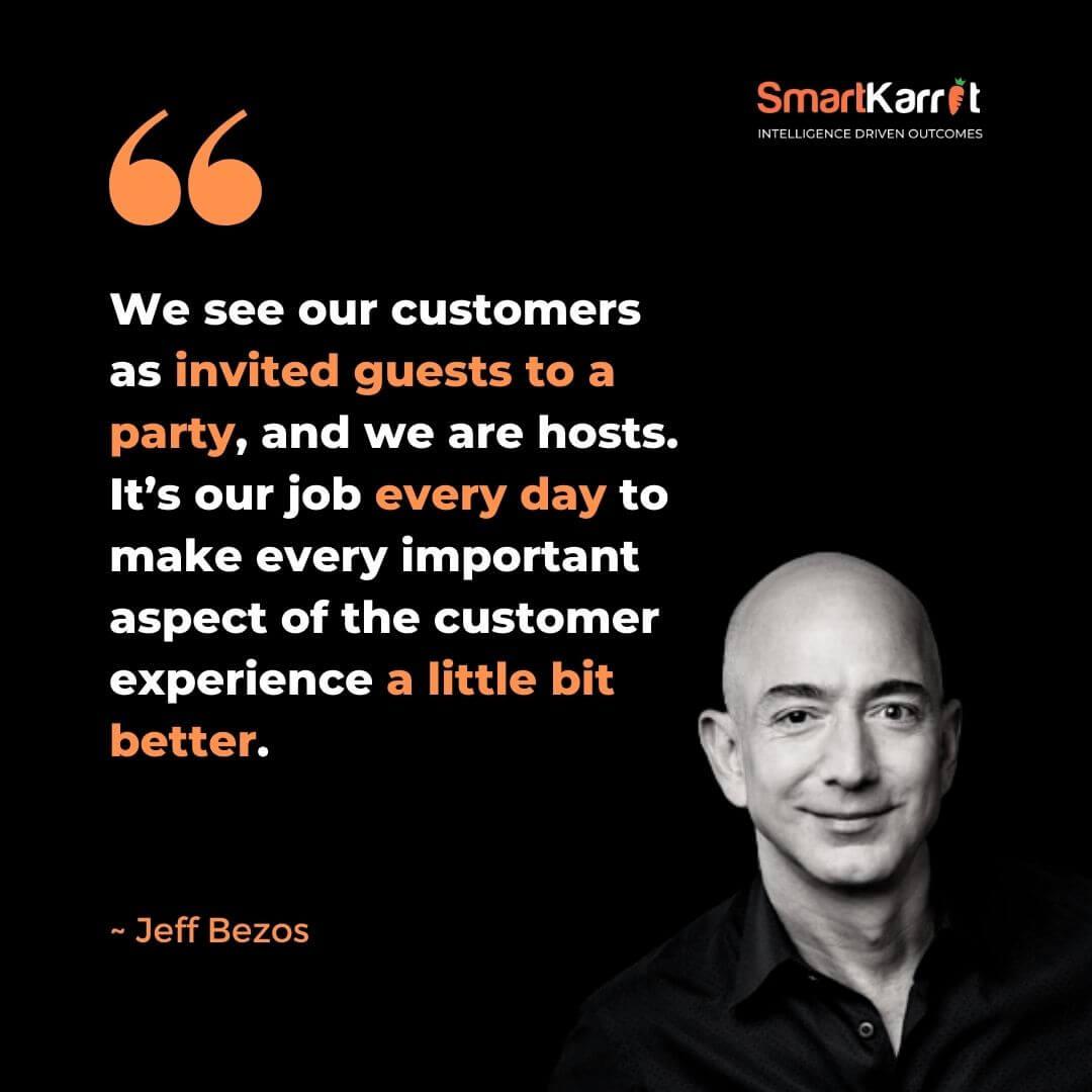 Customer Experience Quote-Jeff Bezos