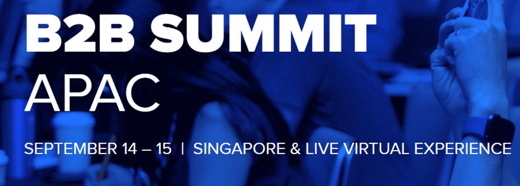 Forrester B2B Summit APAC