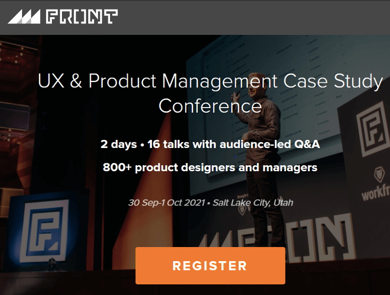 Front UX and Product Management Conference