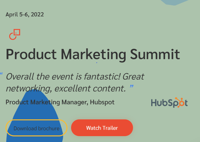 Product Marketing Summit Product Conferences